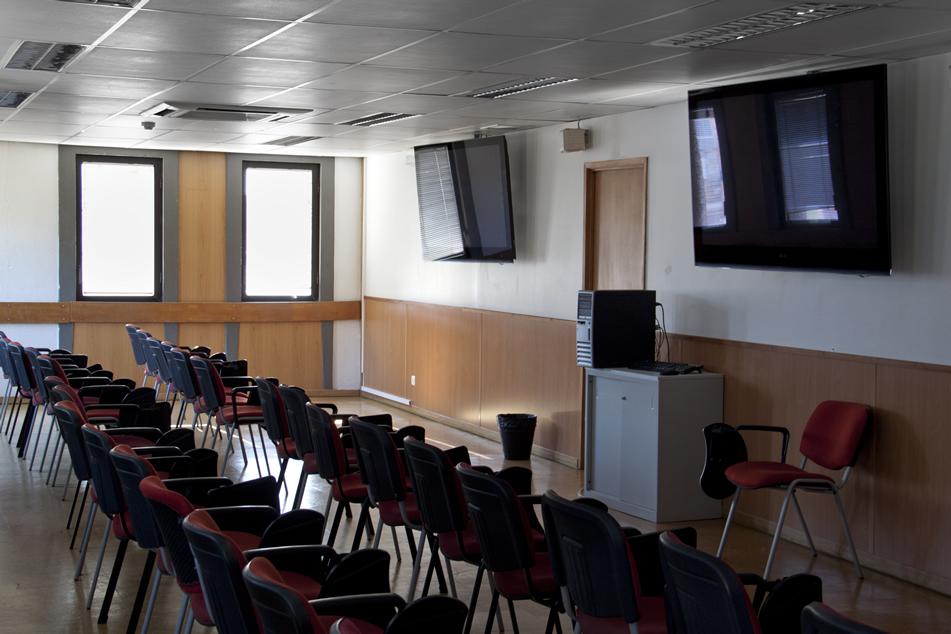 modernas salas de aula
